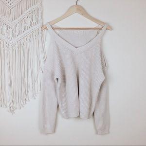 Pacsun • L.A. Heart Cold Shoulder Sweater
